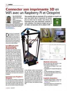 Connecter son imprimante 3D en WiFi avec un Raspberry Pi et Octoprint