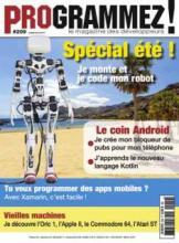 L'Oric à l'honneur dans le n° 209 de Programmez! Magazine Couv-209