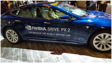 « Xavier » et la voiture autonome de NVIDIA en partenariat avec Audi